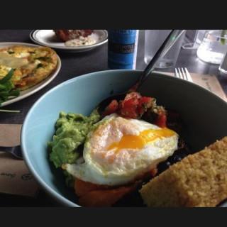 Felicia's breakfast bowl