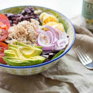 Five Minute Paleo Greek Salad