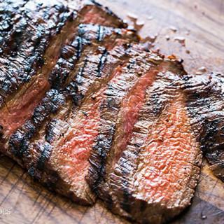Flank Steak Marinade & Chimichurri