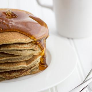 Fluffy Buckwheat Pancakes