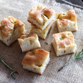 Focaccia with Rosemary & Sea Salt