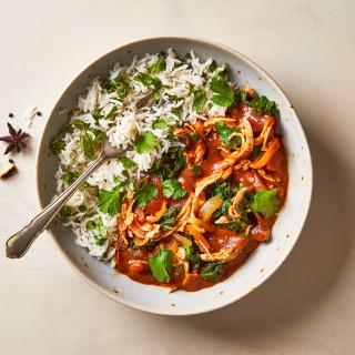 Fragrant Chicken Saag Masala & Pilau Rice