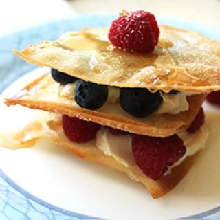Fruit Tart Napoleon