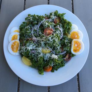 Garden Kale Caesar Salad