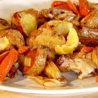 Garlic Roast Chicken