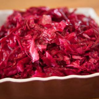 Ginger Beet Sauerkraut
