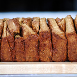 Gingerbread Pull Apart Bread