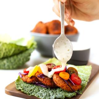 Gluten-Free Baked Falafel