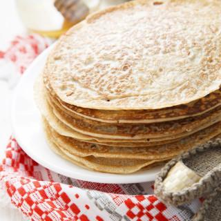 Gluten-Free Buckwheat Pancakes