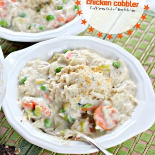 Gluten Free Chicken Cobbler