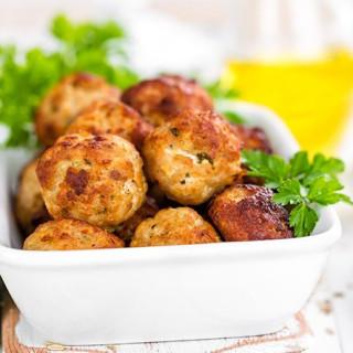 Gluten-Free Chicken Meatballs