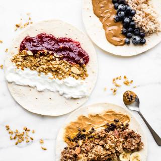 Grab and Go Gluten-Free Breakfast Wraps (3 Ways)