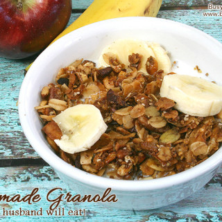 Granola Even Your Husband Will Eat! Gluten-Free and DELISH!