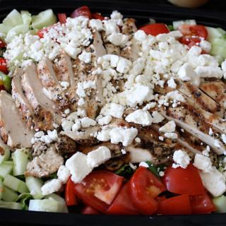 Greek Grilled Chicken Salad