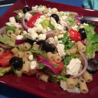 Greek Pasta Salad Bowl