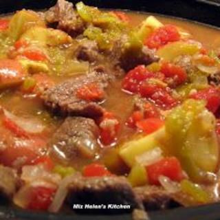 Green Chili Stew