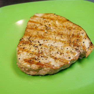 Grilled Ahi Tuna with Honey Soy Sauce