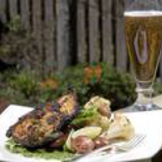 Grilled Bombay Chicken