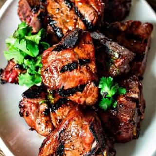 Grilled Hoisin Lamb Chop