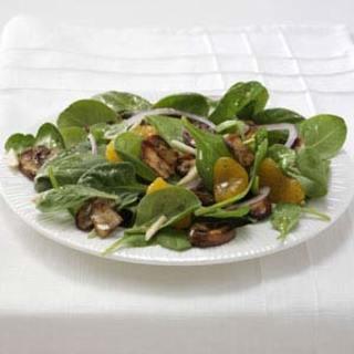 Grilled Portobello Spinach Salad Recipe