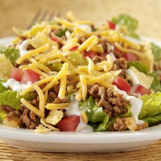 Ground beef and guacamole burrito bowls (PlateJoy)