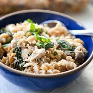 Grown-Up Tuna Noodle Casserole