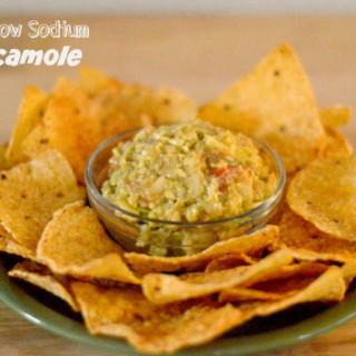 Guacomole, Low Sodium