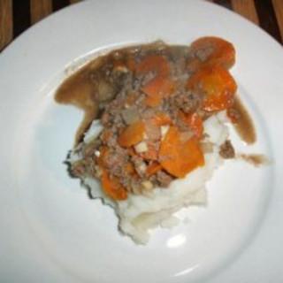 Hamburger and Carrot Medley