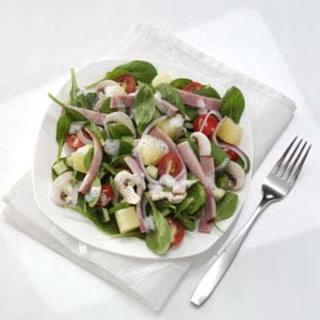 Hawaiian Spinach Salad Recipe