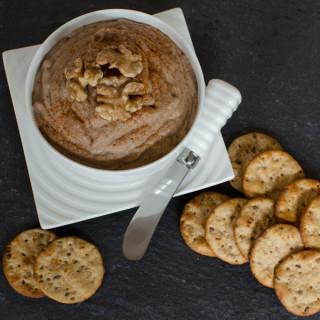 Healthy Lentil Walnut Pâté