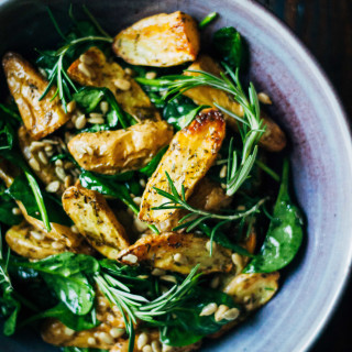 Healthy Vegan Potato Salad