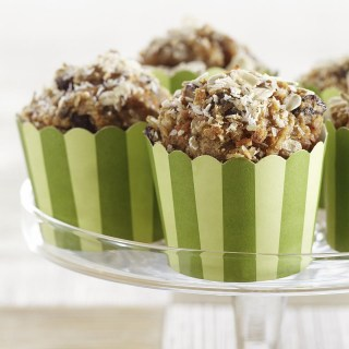 Coconut-Carrot Morning Glory Muffins
