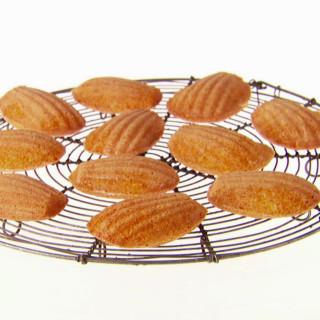 Honey-Almond Madeleines
