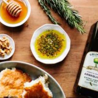 Honey, Walnut & Rosemary Dipping Oil