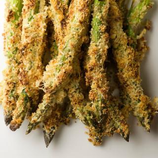 Honey Breadcrumb Asparagus Recipe