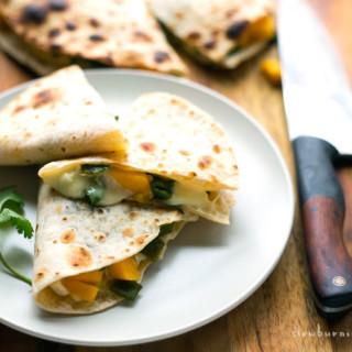 How to Make The Elusive Mango Brie Quesadilla
