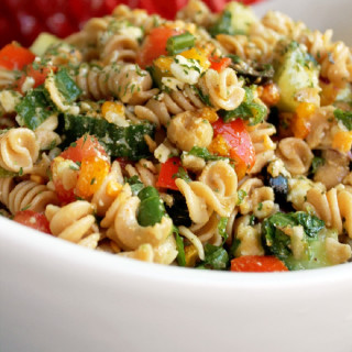 Indian Pasta Salad