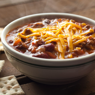 Instant Pot Chili with Ground Beef and Dry Kidney Beans (Slow Cooker Option