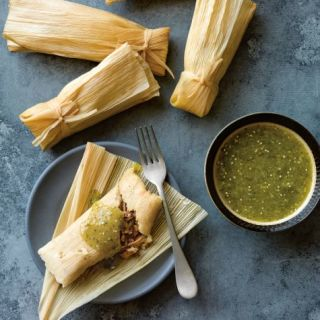 Instant Pot Pork and Green Chile Tamales