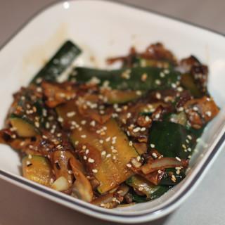 Japanese Stir Fry Zucchini