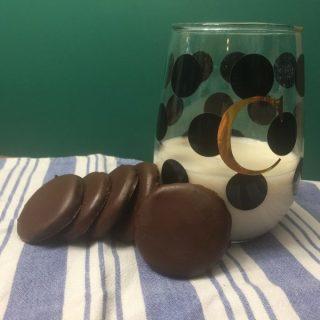 Keto Thin Mint Cookies