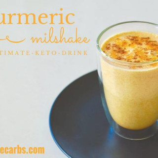 Keto Turmeric Milkshake