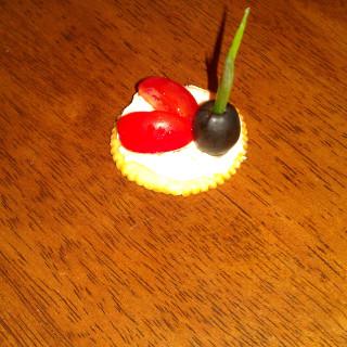 Ladybug Appetizer