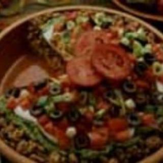 Layered Mexican Turkey-Rice Salad