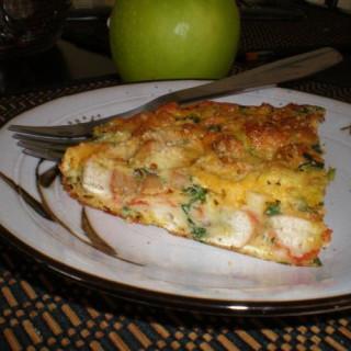 Leftover Pizza Frittata (Using Leftover Pizza!)