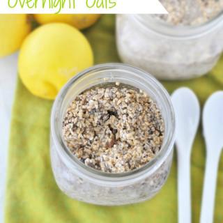 Lemon Coconut Overnight Oats