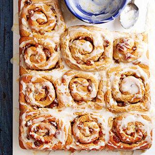 Lemon-Honey Sweet Rolls
