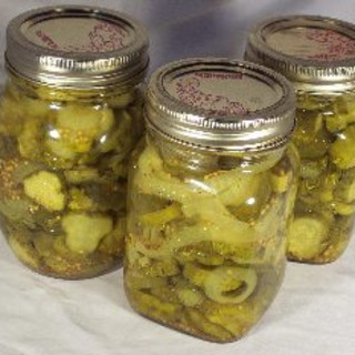 Light Bread and Butter Pickles