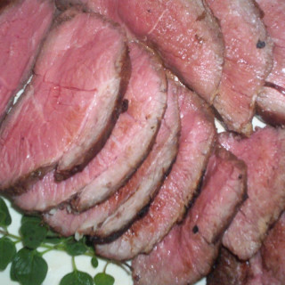 Lime and Ginger Marinated Lamb