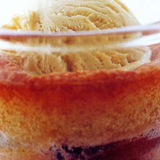 Little nectarine puddings